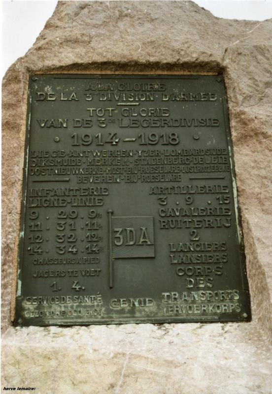 LES MONUMENTS BELGES