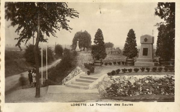 LA TRANCHEE DES SAULES .